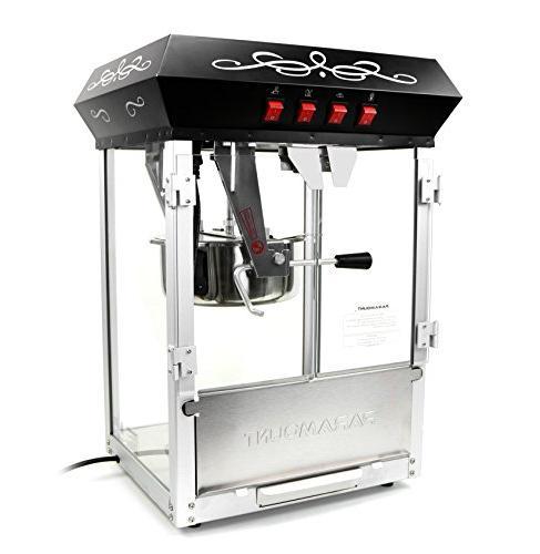 Paramount Popcorn Machine Feature-Rich oz Oil Popper