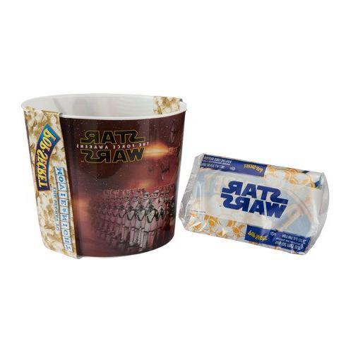 Star Wars The Force Awakens Home Theater Popcorn Bucket & 1