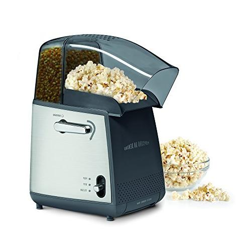 West on Demand Popcorn Popper Up Using Hot Control Cycle,
