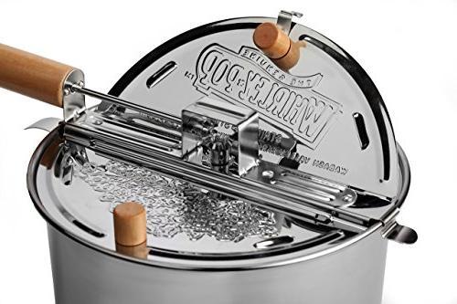 Whirley Steel 6 Popcorn Popper