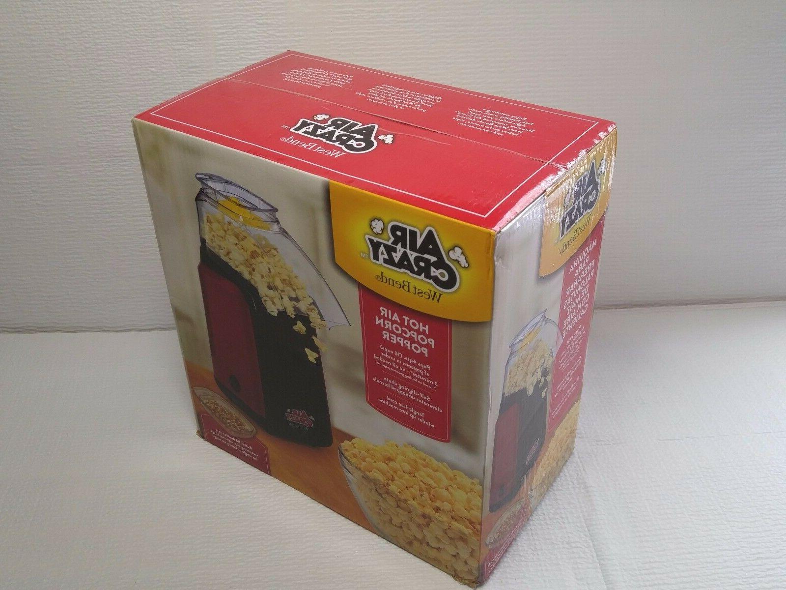 West Bend Crazy Popcorn