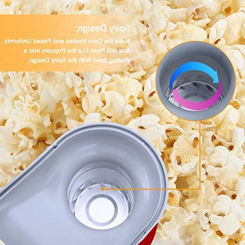 Popper Electric Machine 16 Cups of Popcorn, with and