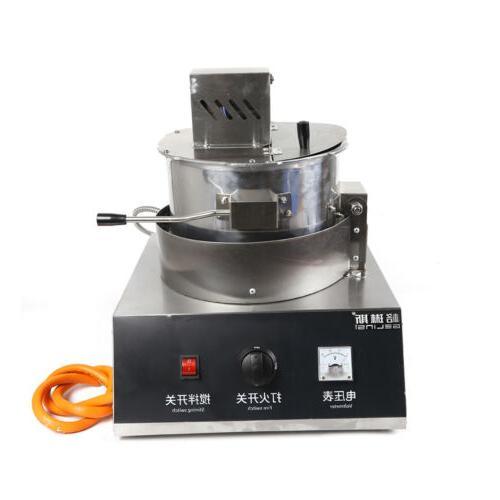 110V Gas Popcorn Popper Machine Maker Convenient Fashioned S