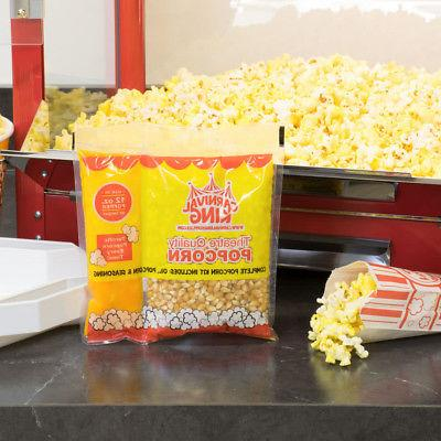 all in one popcorn kit for 12