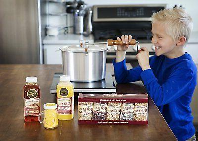 amish country popcorn gourmet gift set stovetop