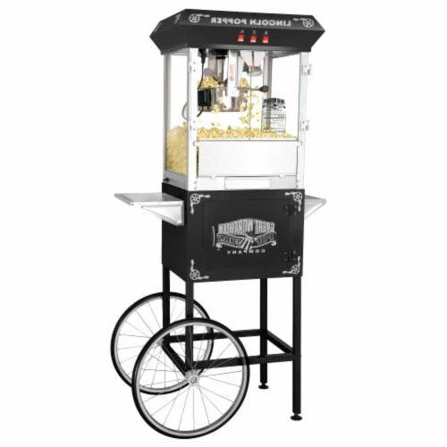 "Great Popcorn ""Lincoln"" 8-oz. Machine - Black"