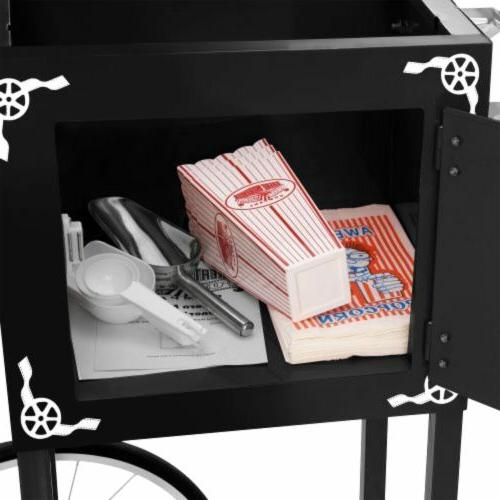 "Great Northern Popcorn ""Lincoln"" Machine Black"
