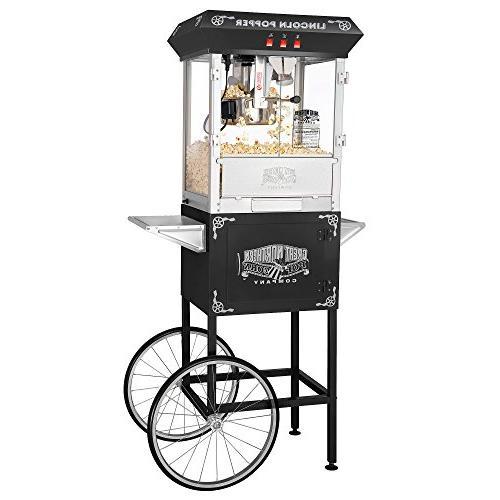 antique machine cart