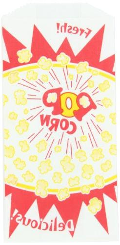 1.5 oz Popcorn Bag - Burst Design, 1000 per Case