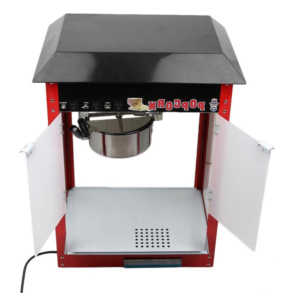 Best 1600W Electric <font><b>Popcorn</b></font> Table Corn Cooker 230V With Multi-Function Control Switches