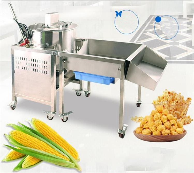 Big <font><b>Popcorn</b></font> Machine/Gas Corn <font><b>Popper</b></font>