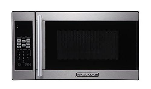 black decker microwave oven
