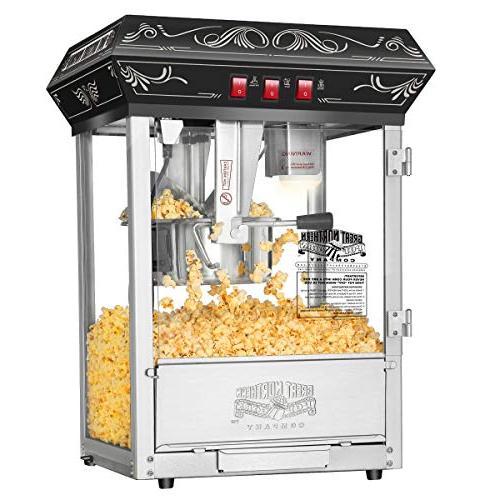 5800 Black Popcorn Popper Machine, 8