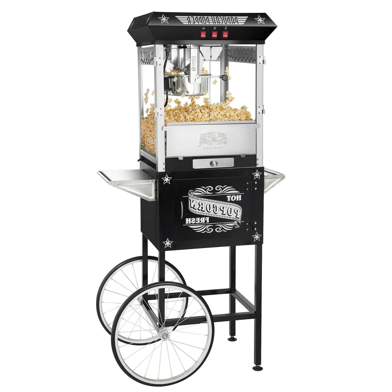 black paducah antique machine cart
