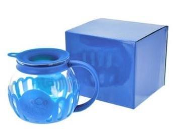 blue 3qt microwave popcorn popper