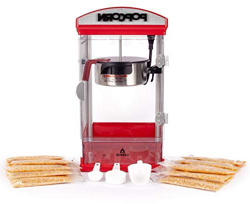 carnus home popcorn machine