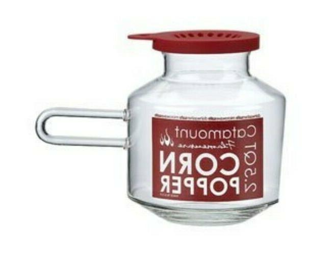 catamount glass microwave 2 5 qt popcorn