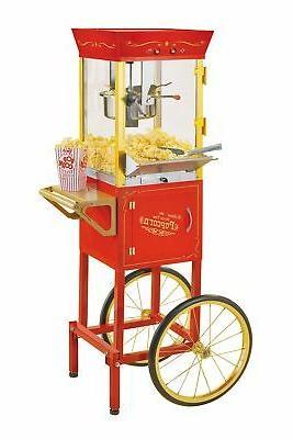 ccp510 vintage 6 ounce commercial popcorn cart