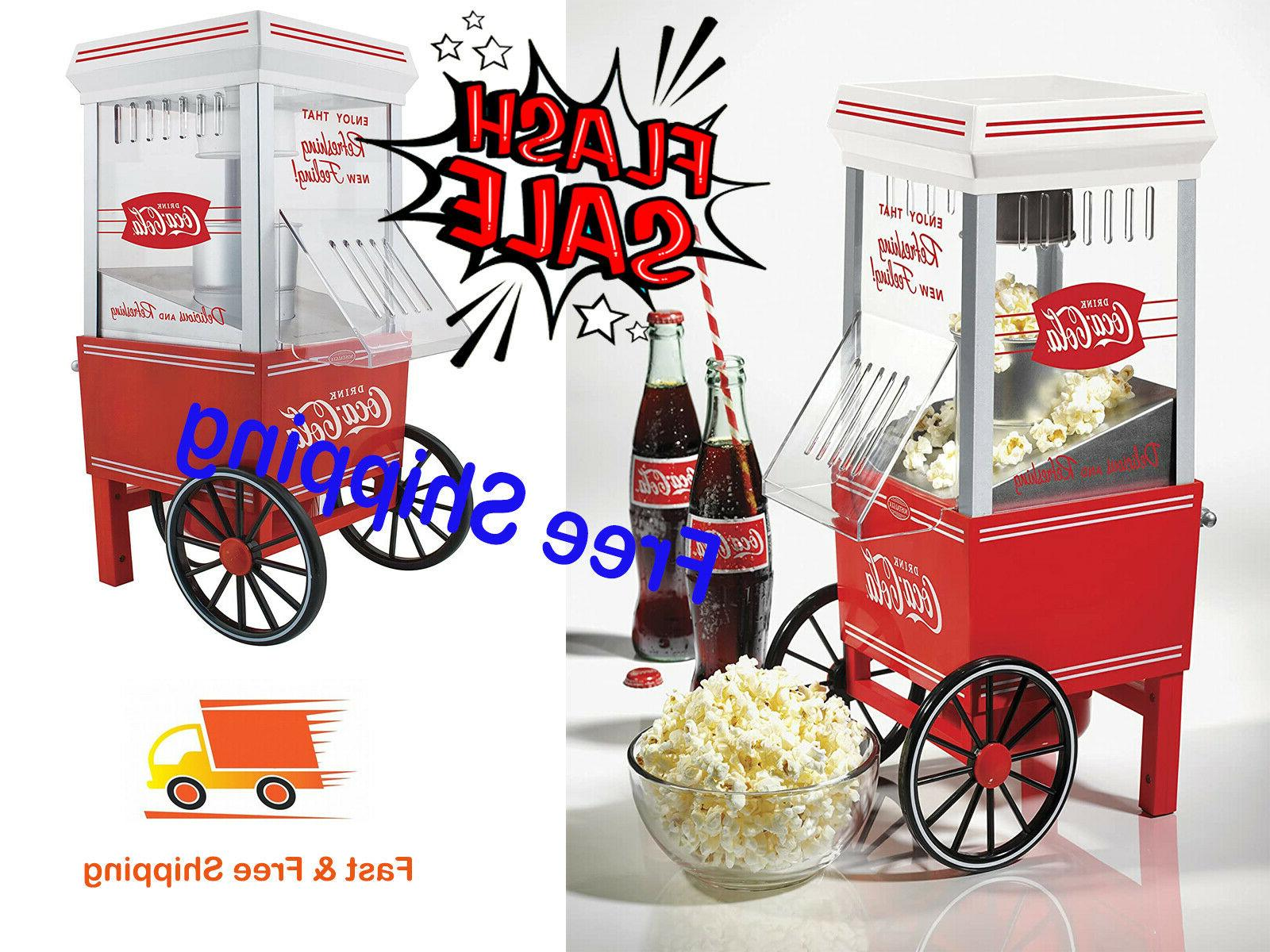 cocacola series air popcorn maker