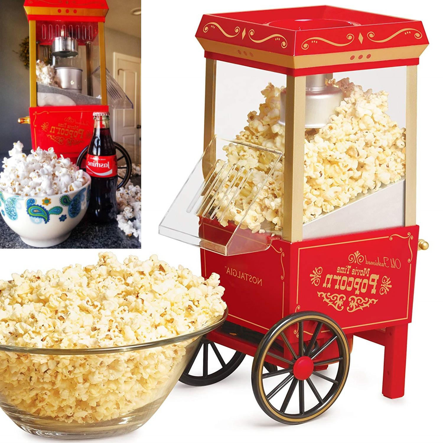 commercial healthy popcorn maker machine 12 cup