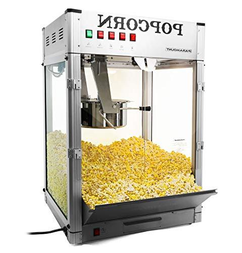 commercial popcorn maker machine oil