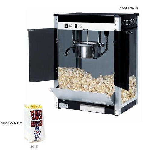 1108220 contempo pop popcorn machine