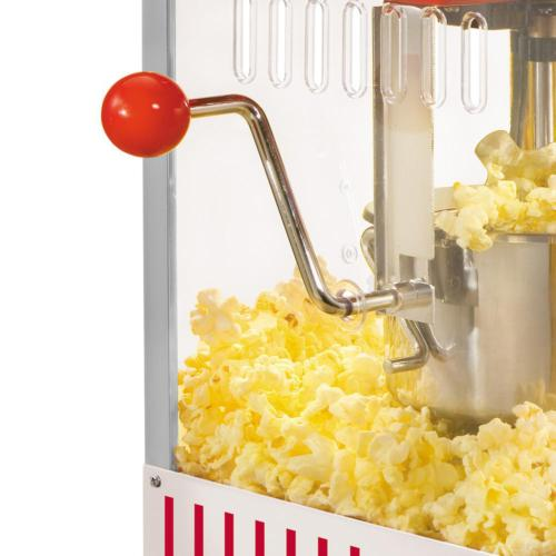 Countertop Popcorn Vintage Red Kettle