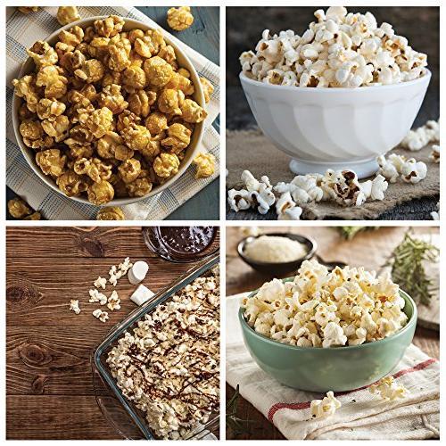 DASH Machine: Air Popcorn Cup Popcorn Kernels + -