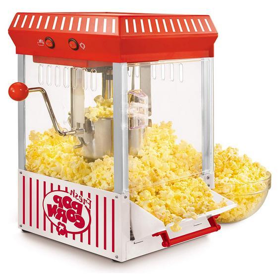 Electric Popcorn Cart Machine Popper Style Home