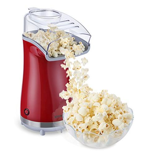 excelvan hot air popcorn popper electric machine maker cups