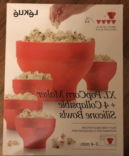 Lekue Popcorn And Bowls For Compact