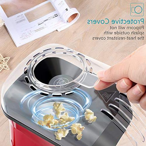 OPOLAR Fast Popcorn Measuring Cup Watching Movies Parties 1200W,