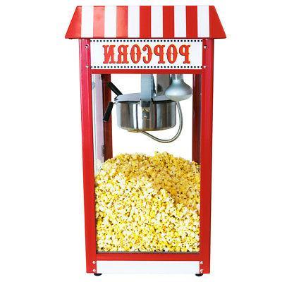 Funtime OZ Commercial Carnival Bar Popcorn Popper Machine