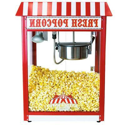 Commercial Bar Style Popcorn Popper
