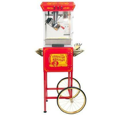 ft862cr sideshow popper oil popcorn