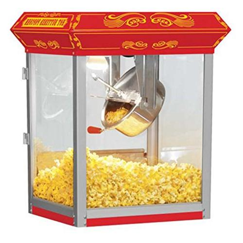 FunTime Carnival Style oz. Hot Oil Popcorn Machine in