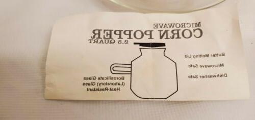 Catamount Popper Butter Drip Instructions
