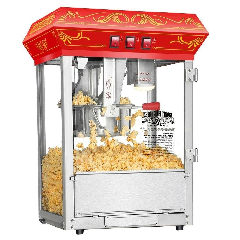 great northern popcorn red foundation antique style