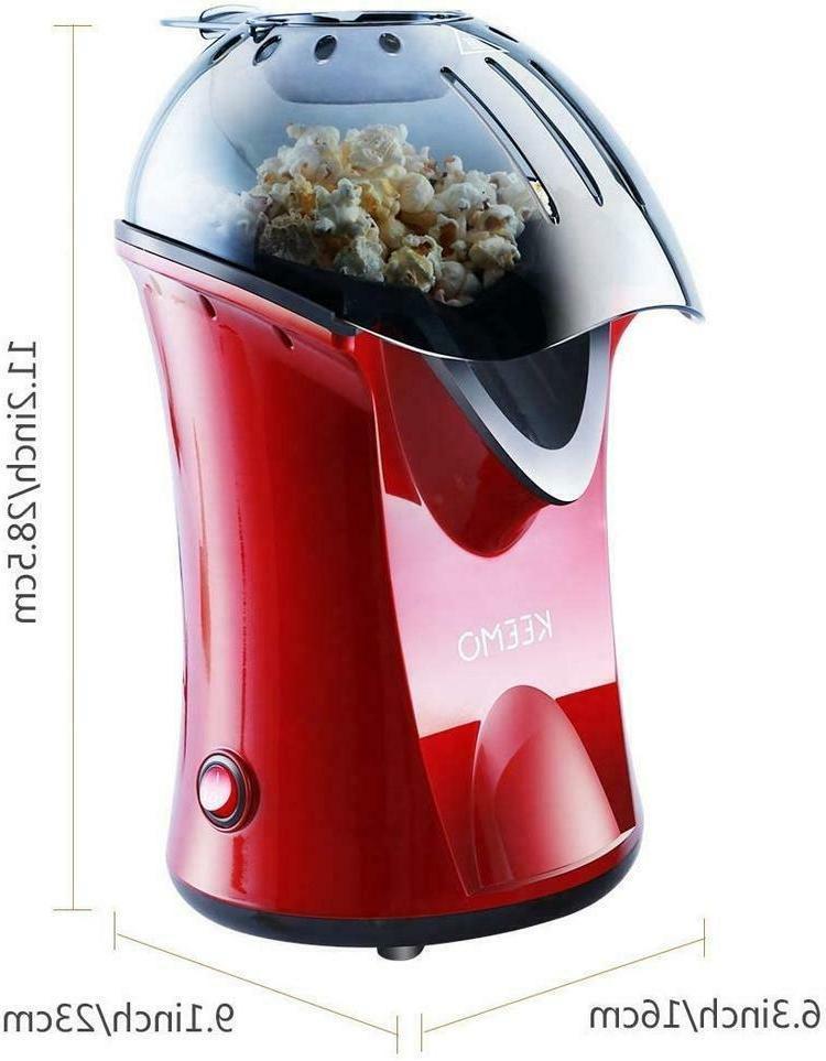 High Efficiency Popcorn Popper Healthier Easy
