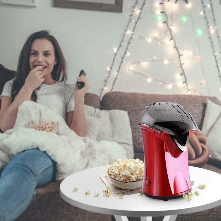 High Efficiency Popcorn Popper Machine Hot Healthier