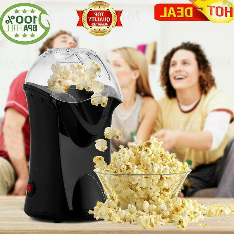 homdox hot air popcorn machine 1200w electric