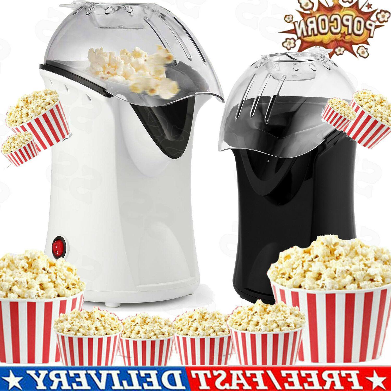 Homdox Hot Air Popper Popcorn Maker Electric Popcorn Machine