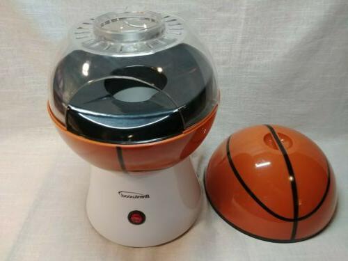 Hot Popcorn Basketball Brentwood Popcorn Maker