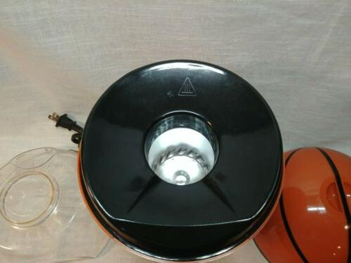 Hot Air Popcorn Basketball Novelty Brentwood Maker