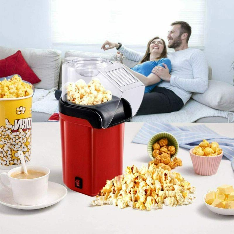 Hot Air Popcorn Popper Fast Measuring Cup Removable