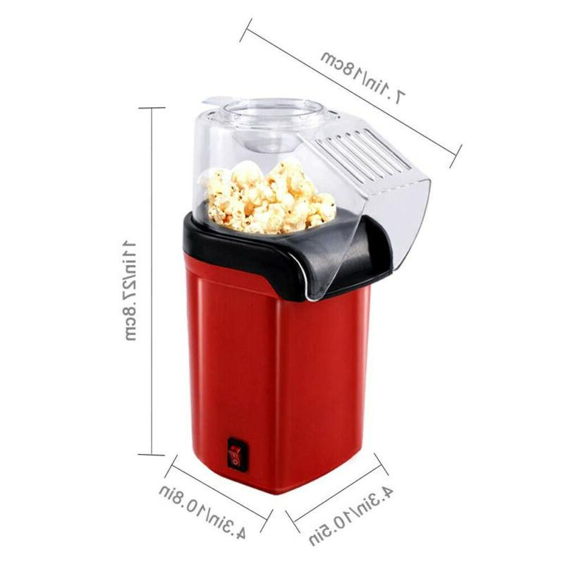Hot Popcorn Popper Fast Measuring Cup Removable