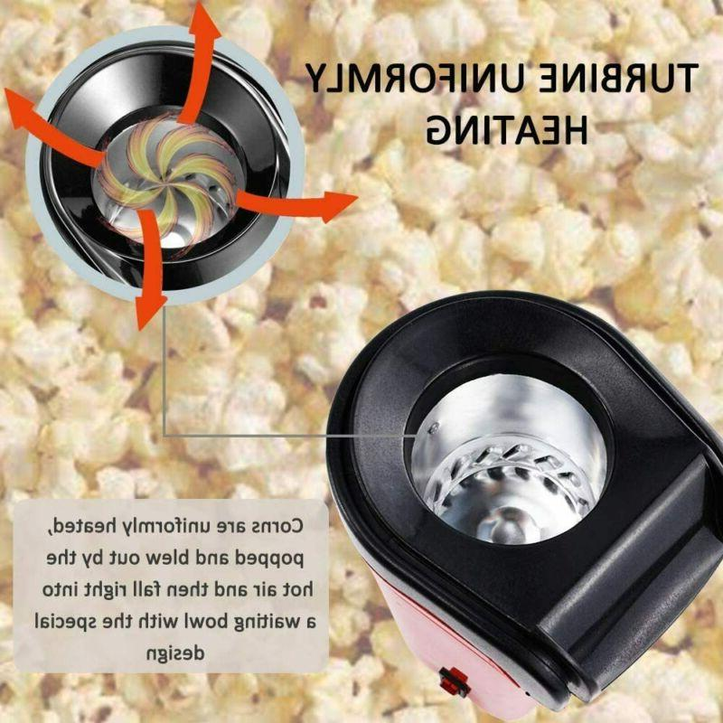 Hot Air Popcorn Fast Healthy Measuring Cup Removable