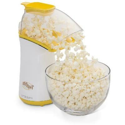 Hot Air Popcorn Popper Machine Presto Lite Natural 18 Cup No
