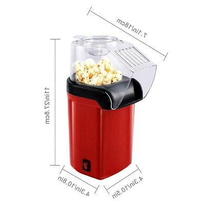 Hot Popper Maker with Measuring Cup and Lid
