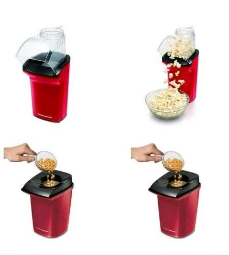 Hamilton Hot Popcorn Maker Red for